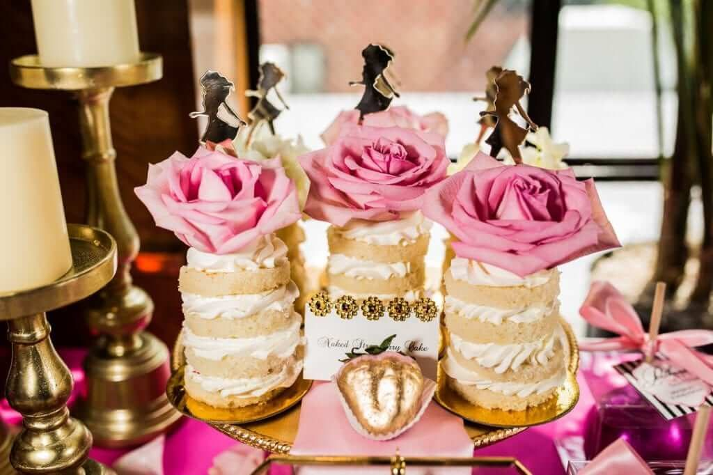 Glamorous Pink Bridal Shower Theme - The Event Planet