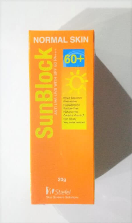 Stiefel Sunblock for normal skin SPF 60 - The Event Planet