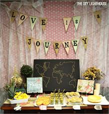 Travel Bridal Shower - The Event Planet