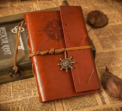 Leather Bound Journal - The Event Planet