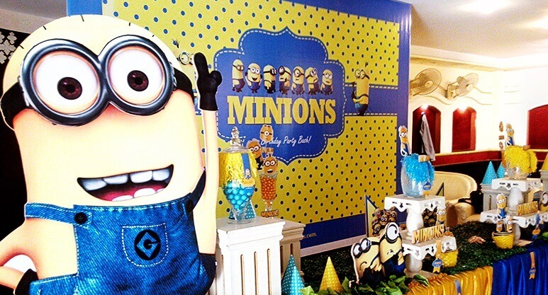 Minion Birthday Themes for Boys - The Event Planet