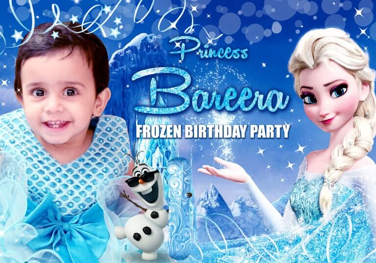 Frozen Themes for Girls - The Event Planet
