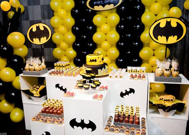 Batman Birthday Themes for Boys - The Event Planet