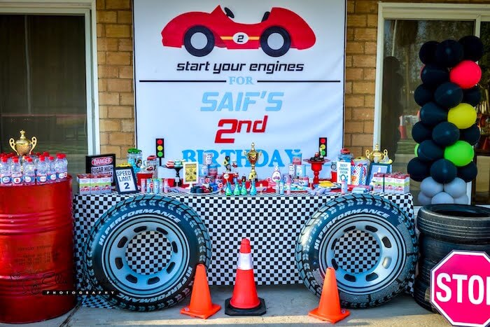 Car Birthday Themes for Boys - The Event Planet