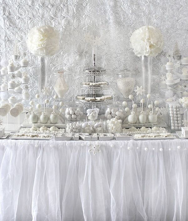 All White Bridal Shower - The Event Planet