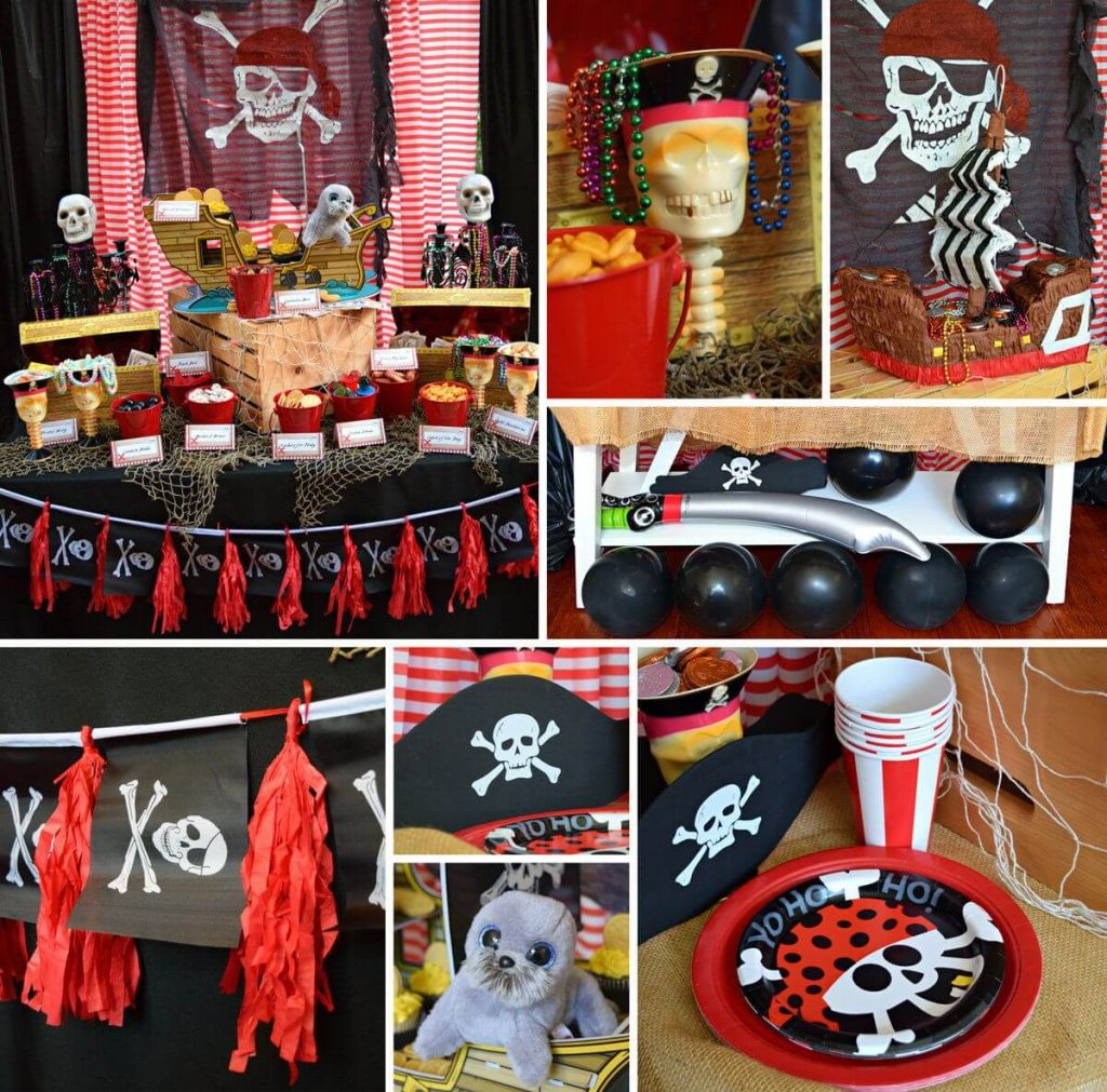 Pirate Birthday Themes for Boys - The Event Planet