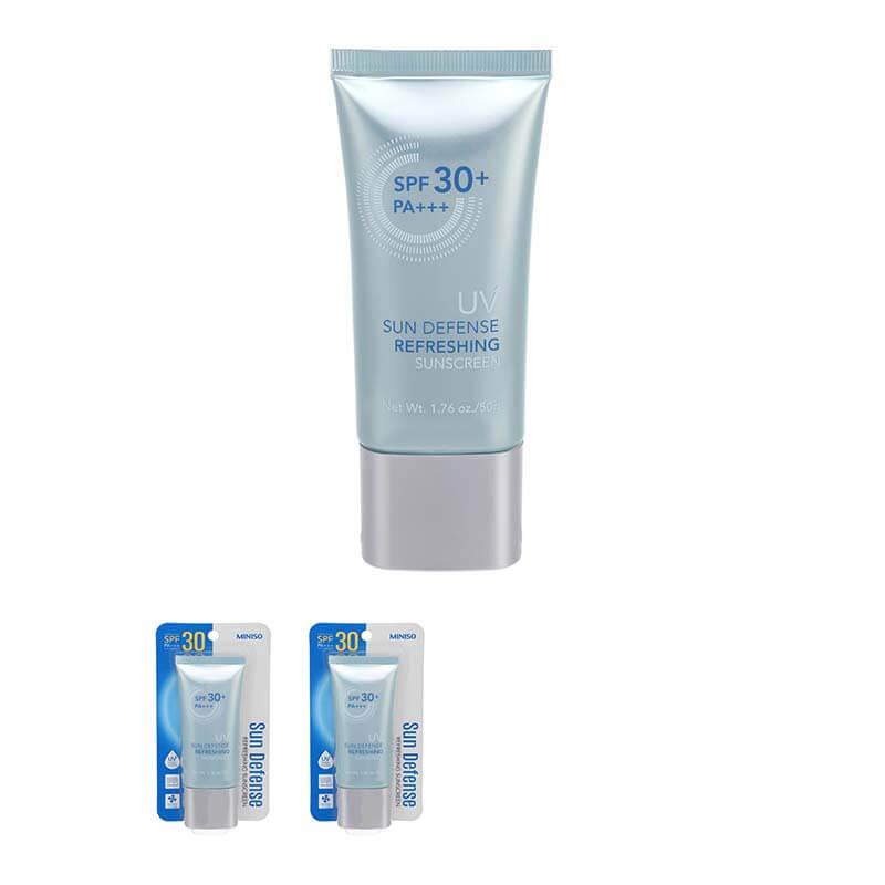 Miniso UV Self Defense Refreshing Sunscreen SPF 30 - The Event Planet