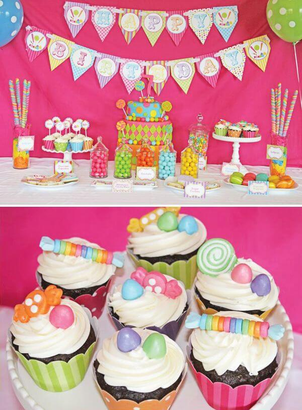 Candy and Cupcakes theme - The Event Planet