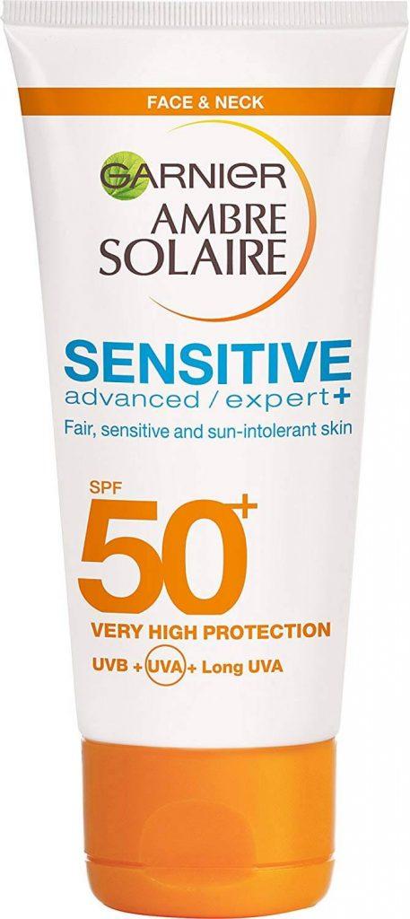 Garnier Amber Solaire Sensitive SPF50 -  The Event Planet